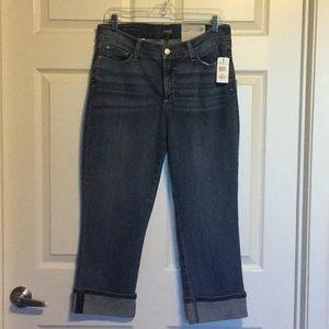 Denim - NYDJ ( Not Your Daughters Jeans) Capris